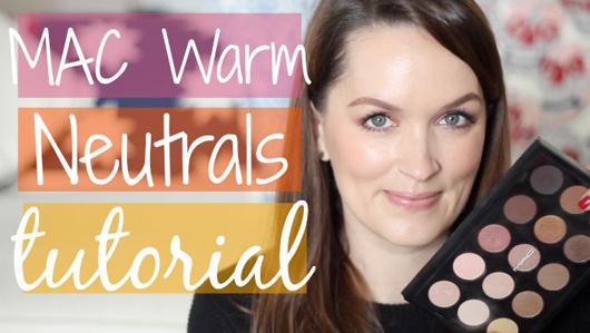 Mac Warm Neutrals Tutorial | All Dolled Up