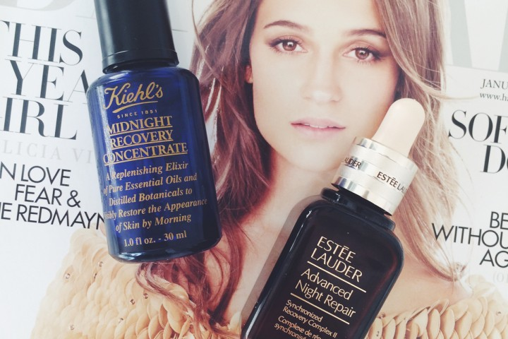 Difference between Advanced Night Repair and Midnight Recovery Concentrate   All Dolled Up