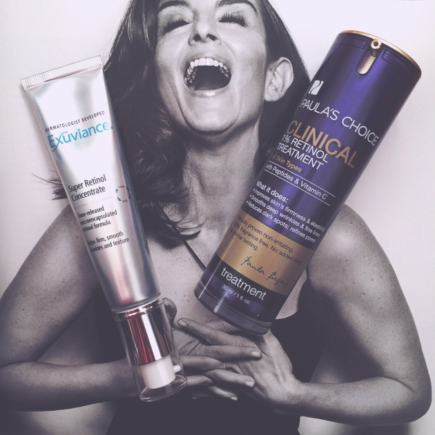 Paula's Choice Clinical 1% Retinol Treatment and Exuviance Super Retinol Concentrate