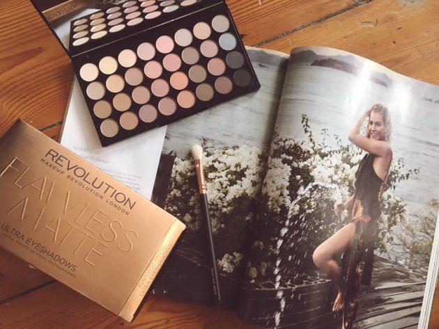Beauty Haul: Revolution Flawless Matte Ultra Eyeshadow Palette