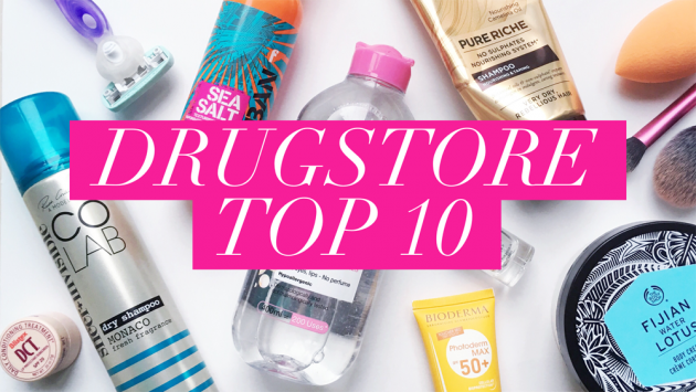 Drugstore Top 10 - Skin, Nails, Hair & Tools | All Dolled Up