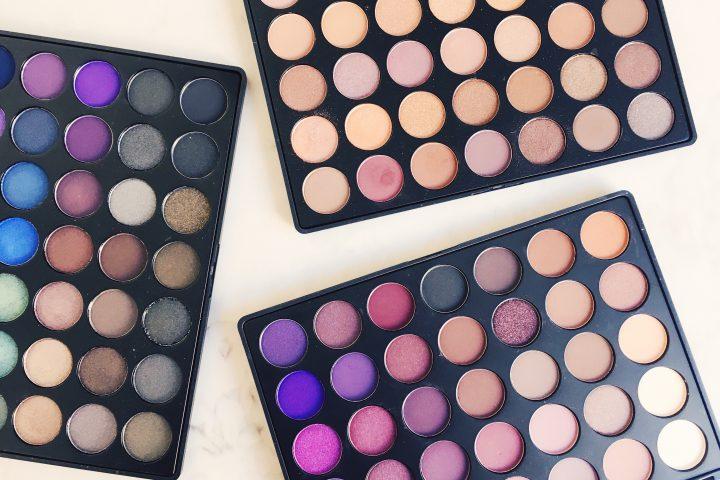 Morphe eyeshadow palettes